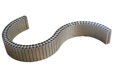 Как гнуть алюминиевый профиль для радиусных фасадов